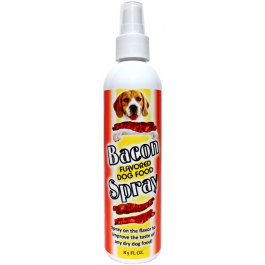 Bacon Spray for dry dog food