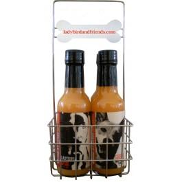 Hot Sauce Gift Basket Dog Lover's Gift