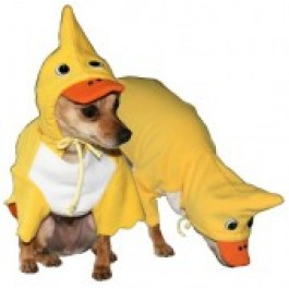 Duck Hoodie Dog Costume