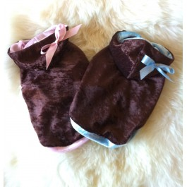 Brown Sugar Dog Hoodie by Vienna Couture Canine