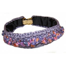 Flower Dog Collar Cover by Ilse Leader