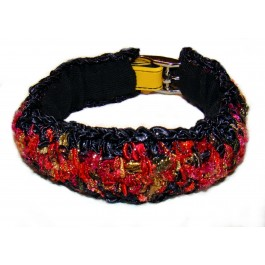 Dog Collar Cover by Ilse Leader