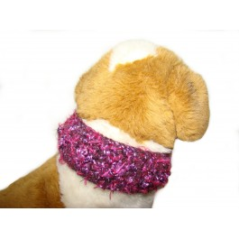 Designer dog collar cover by Ilse Leader