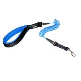 Junior Coil Dog Leash - Blue