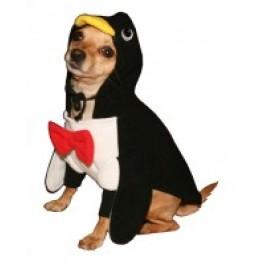 Penguin Hoodie Dog Costume
