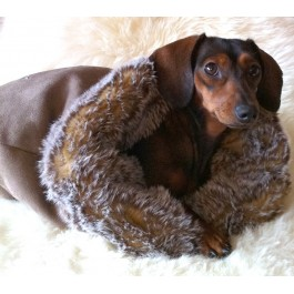 Dog Sleeping Pouch by Vienna Couture Canine