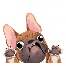 French Bulldog Sticker Decal
