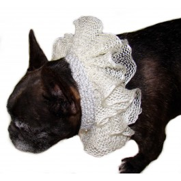 Dog Wedding Collar Cover by Ilse Leader