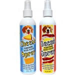 Cheese and Bacon flavor spray for dry dog food