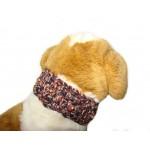 Designer dog collar cover by Ilse Leader