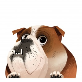 English Bulldog Sticker Decal